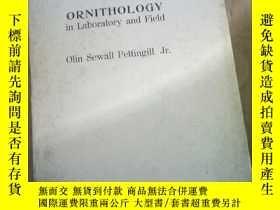 二手書博民逛書店Fifth罕見Editon ORNITHOLOGY in Lab