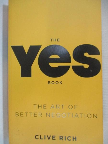 【書寶二手書T3/行銷_AG7】The Yes Book_Clive Rich