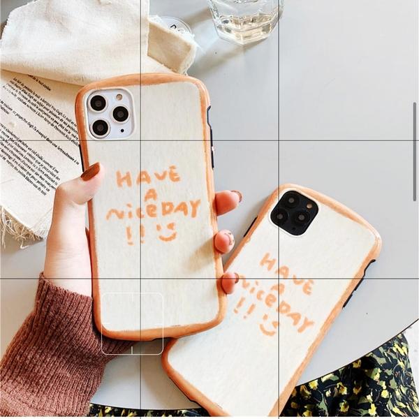 創意吐司適用11Pro/Max蘋果X/XS/XR手機殼iPhone7p/8plus女硅膠套