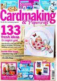 Cardmaking & Papercraft 1月號/2019 第191期+印章組,壓花夾