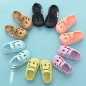 女童涼鞋2018新款兒童涼鞋韓版洞洞鞋夏寶寶涼鞋男1-3歲防滑軟底