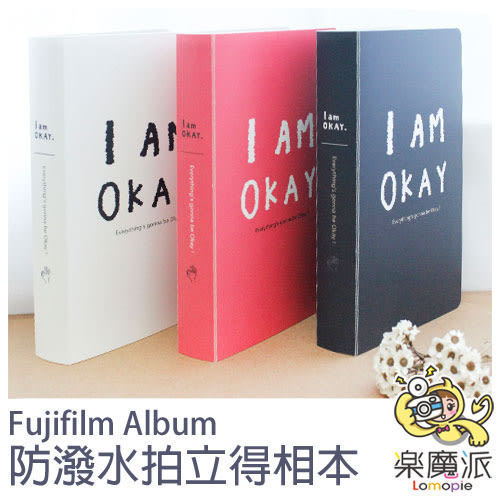 富士 拍立得相本 相冊 相簿 可裝240張 單色英文字母相本 適用MINI拍立得底片