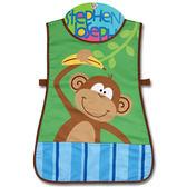 美國 Stephen Joseph 童趣造型防水圍裙-叢林動物園