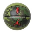 Nike 籃球 Jordan All Court 8P Zion No.7 綠 紅 喬丹 胖虎 標準7號球【ACS】 J100414196-507