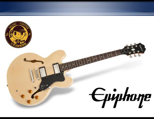 【小麥老師 樂器館】 Epiphone The DOT 原木色 ES-335 系列 爵士 電吉他