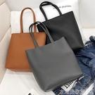 大包包女新款韓版學生簡約百搭側背手提包p...