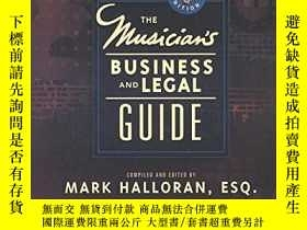 二手書博民逛書店Musician s罕見Business And Legal GuideY255562 Halloran, M