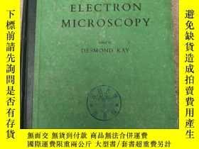 二手書博民逛書店techniques罕見for electron microsc
