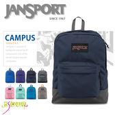 JANSPORT後背包包休閒包大容量防潑水多素色JS-435