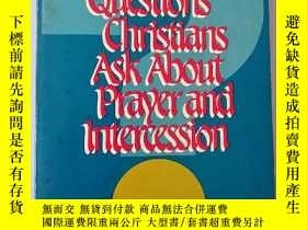 二手書博民逛書店QUESTIONS罕見CHRISTIANS ASK ABOUT