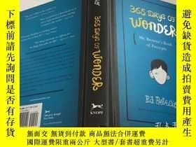 二手書博民逛書店365罕見Days of Wonder: Mr. Browne s Book of Precepts 英文原版兒童