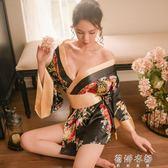 情趣內衣性感激情套裝和服小胸血滴子透視大碼夜店激情制服  蓓娜衣都
