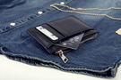 。SW。正韓 韓國製 荔枝紋真皮 淡金拉鍊 實心拉鏈頭 質感 信用卡/悠遊卡/名片夾 零錢包【K81122】