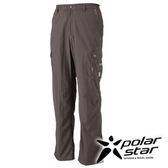 PolarStar SUPPLEX多口袋長褲 男『黑咖啡』戶外│休閒│登山│露營│防曬褲│吸濕排汗褲 P16323