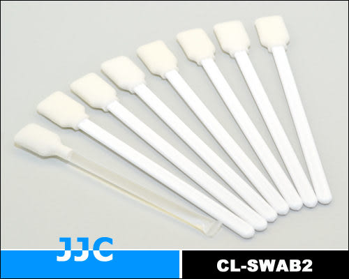 我愛買#JJC專業CCD清潔棒SWAB 2(乾x7濕x1,無塵室製造包裝)無塵棒CMOS清潔棒除塵棒清潔CCD入塵