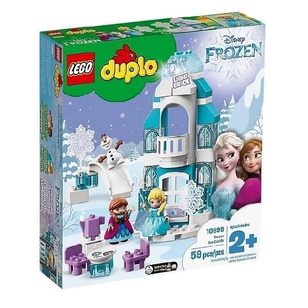 【南紡購物中心】【LEGO 樂高積木】得寶幼兒系列 Duplo -冰雪奇緣城堡 Frozen Ice Castle (59pcs)10899