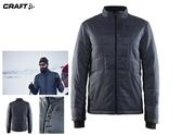 【速捷戶外】瑞典Craft 1905242 輕量防潑保暖外套(男)-灰, 適合旅遊 登山 滑雪 城市探索