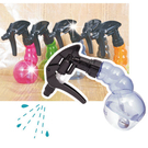 【日本製造】Y.S.PARK造型多角度水槍塑膠透明空瓶-220ml(不挑色) [47299]◇瓶瓶罐罐容器分裝瓶◇