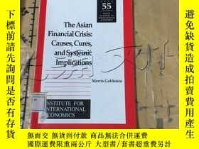 二手書博民逛書店The罕見Asian Financial Crisis: Cau