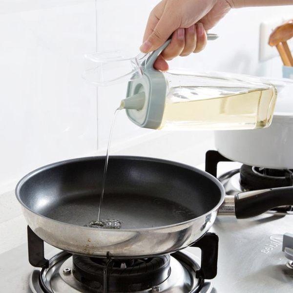 [超豐國際]玻璃油壺大號裝油瓶醋瓶香油瓶廚房用品防漏油罐醋壺醬油瓶
