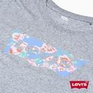 Levis 女款 短袖T恤 / 翻玩夏日Logo T / 花卉Logo
