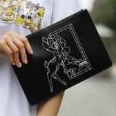 ■現貨在台■專櫃專櫃62折 Givenchy  全新真品 Bambi 大款 小鹿斑比 小牛皮手拿包
