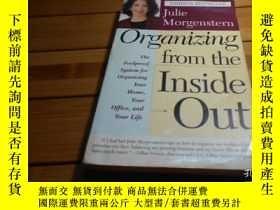 二手書博民逛書店Organizing罕見from the Inside Out