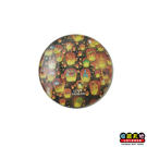 【收藏天地】台灣紀念品*水晶玻璃球冰箱貼-天燈