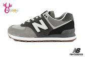 New Balance 成人男款 574休閒運動鞋 經典復刻 復古 慢跑鞋 O8499#灰色◆OSOME奧森鞋業