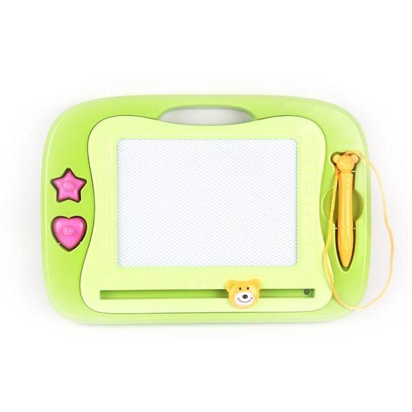 大號磁性畫板 益智玩具 兒童寫字板彩色涂鴉禮物 畫板筆 磁性畫板