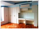 【歐雅 系統家具 】窗邊臥榻結合L型衣櫃...
