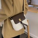 側背包水桶包可愛毛毛包包女時尚百搭單肩斜挎包【聚可愛】
