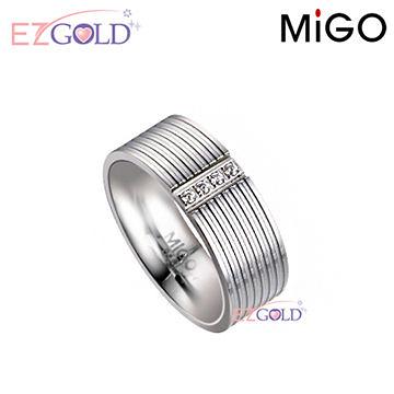 MiGO鋼飾♥青春♥鋼飾戒指(女)