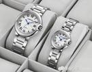 手錶 歐美風情侶手錶個性創意時尚潮流石英錶鋼帶防水男女學生簡約腕錶 檸檬衣舍