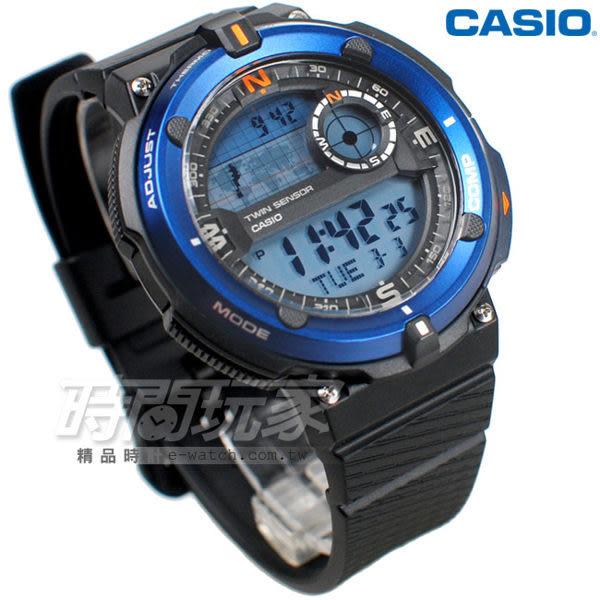 CASIO卡西歐SGW-600H-2A 大錶面 LED照明 電子錶 SGW-600H-2ADR 男錶 中性錶 運動錶 學生錶 日期 計時碼表