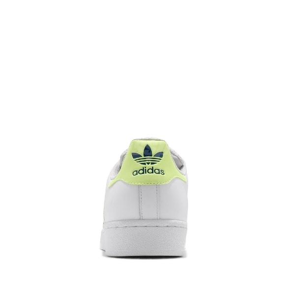 【海外限定】adidas 休閒鞋 Superstar 白 黃 螢光 男鞋 女鞋 運動鞋 貝殼頭 【ACS】 CG6262