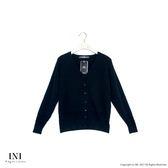 【INI】超值舒適、美型質感織紋針織外套.黑色