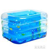 諾澳大號家庭充氣游泳池加厚嬰兒童游泳池寶寶戲水池成人浴缸YYP 可可鞋櫃