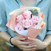 特賣仿真康乃馨母親節創意禮物香皂花情人節送女朋友愛人玫瑰花束伊蘿精品
