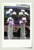 追思弔慰花禮喪禮-悼念敬輓用高架白蘭花3株一對2300元(限台北縣市區內)