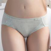 華歌爾-咖啡紗M-LL中腰三角內褲(抹茶歐蕾)環保天然素材VS2188-NO