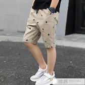 男童七分褲夏裝薄款洋氣兒童褲子短褲中大童夏季中褲五分 夏季新品