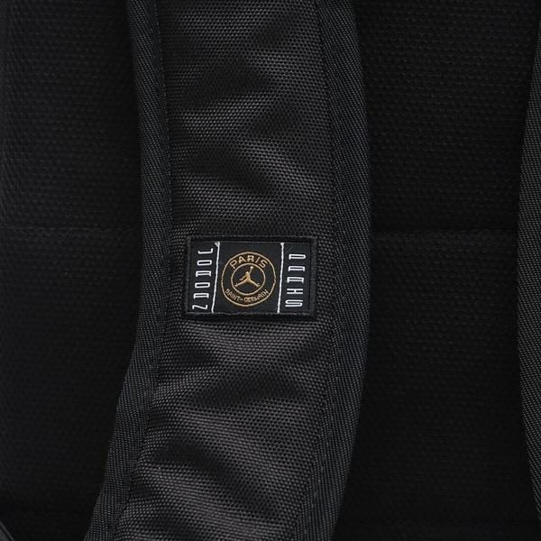 NIKE 後背包 JORDAN 黑紫 PARIS 英文LOGO 休閒 運動 背包 (布魯克林) CW8015011-KR3