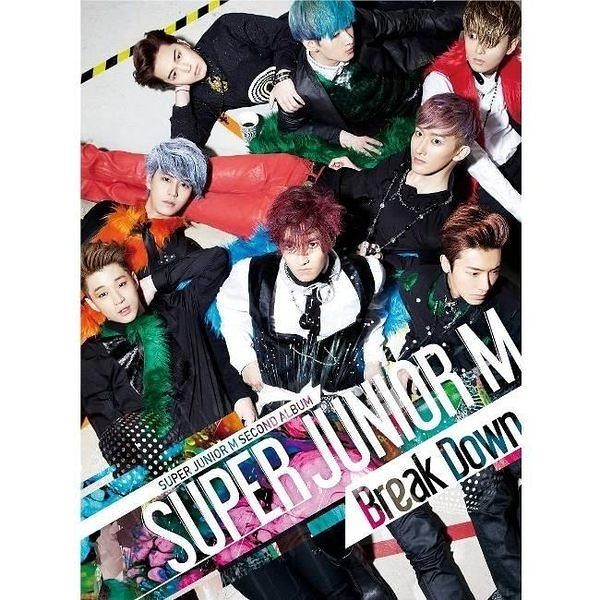 SUPER JUNIOR - M  Break Down CD  (購潮8)