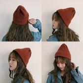 帽子—秋冬保暖韓版百搭chic針織帽可愛ins潮人毛線帽男學生情侶帽子女