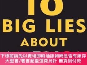 二手書博民逛書店The罕見10 Big Lies About America: Combating Destructive Dis