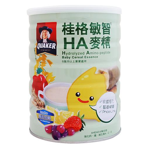 桂格敏智HA麥精-乳鐵蛋白 650g【合康連鎖藥局】