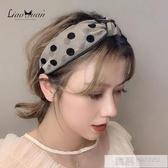 韓國網紅甜美寬邊發卡發箍女少女簡約波點頭箍清新網紗發帶頭飾品 韓慕精品
