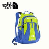 【The North Face 28L 15吋電腦背包《日光黃/海岸線》】CE85-V3E/筆電包/工作包/後背包/登山