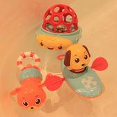 洗澡戲水玩具游泳拉繩劃水拉線上弦上勁發條玩水玩具嬰幼兒漂浮滿699元88折鉅惠
